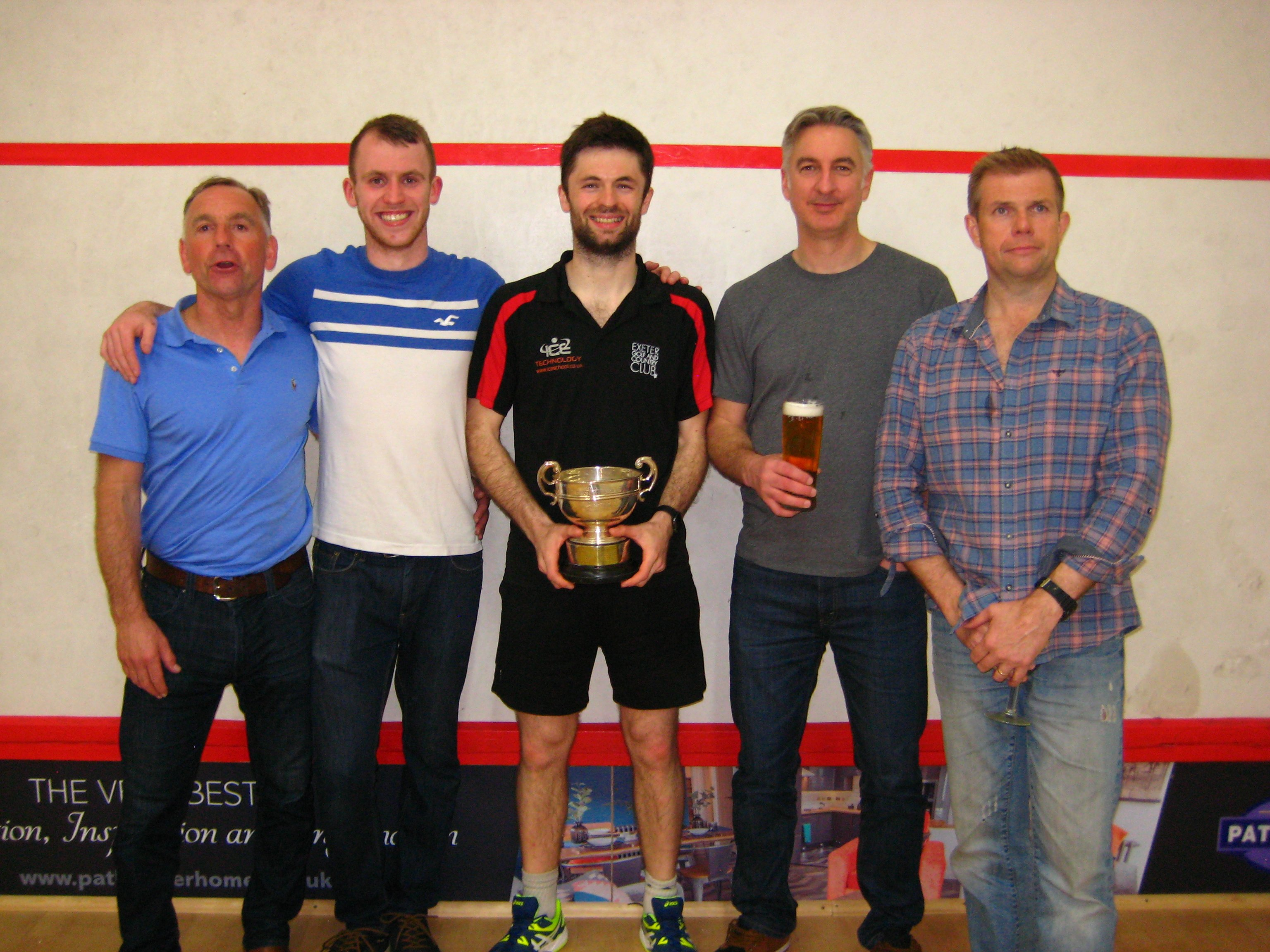 Exeter Golf & CC Devon Cup Squash Winners 2019
